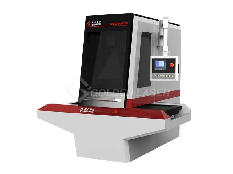 Galvo Laser Engraving Machine for Leather Shoes