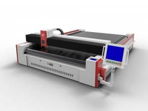 Gear & Rack Driven CO2 Laser Cutter for Technical Textiles
