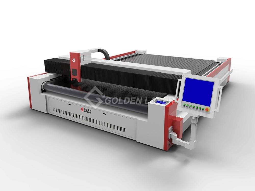 JMC laser cutter for technical textiles