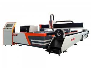 Metal Sheet and Tube Fiber Laser Cutting Machine