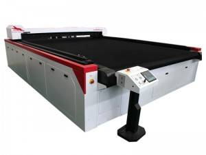 Textile Laser Cutting Machine with Auto Feeder and Conveyor Mesh Belt Working Table