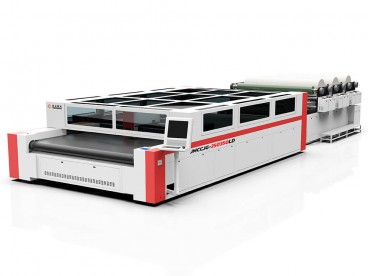 600W CO2 Laser Cutting System for Airbag Production
