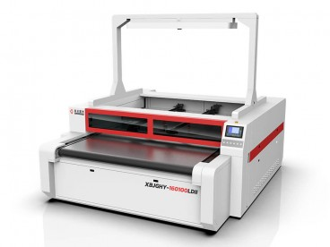 Independent biyu Heads Vision kamara Laser Cutter Machine