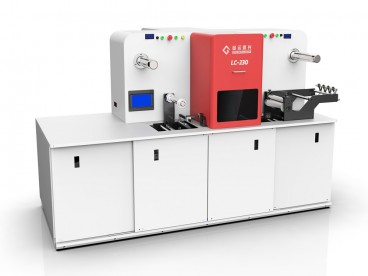 Label Laser Stanssaus Machine