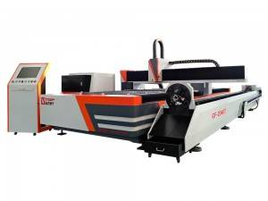 Large Format Fiber Laser Cutting Machine for Metal Sheet and Tube