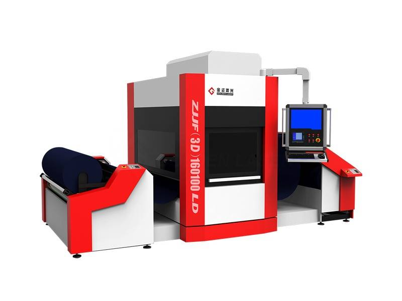 roll to roll flying textile laser engraving machine ZJJF(3D)160LD